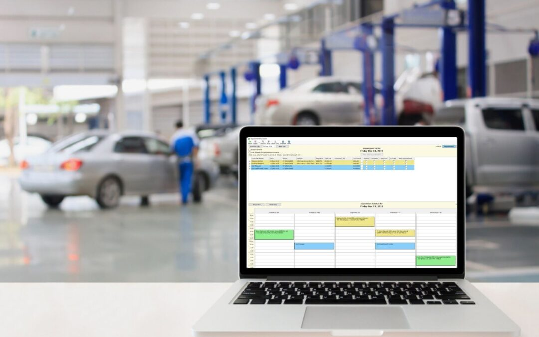 Auto repair shop scheduling made simple with COSTAR software